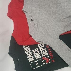 5/$30 H&M JOE FRESH Bundle Thermal Long Sleeve Organic T Shirts